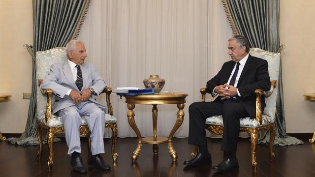 Cumhurbaşkanı Akıncı, Boğaz- Boğaztepe Çevre ve Kültür Koruma Derneği Heyetini kabul etti