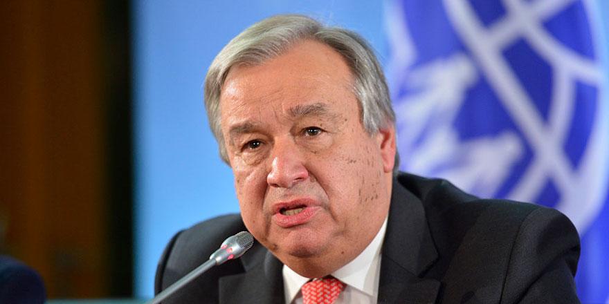 """BM Genel sekreterinden """"Uluslararası insani hukuk"""" uyarısı"""