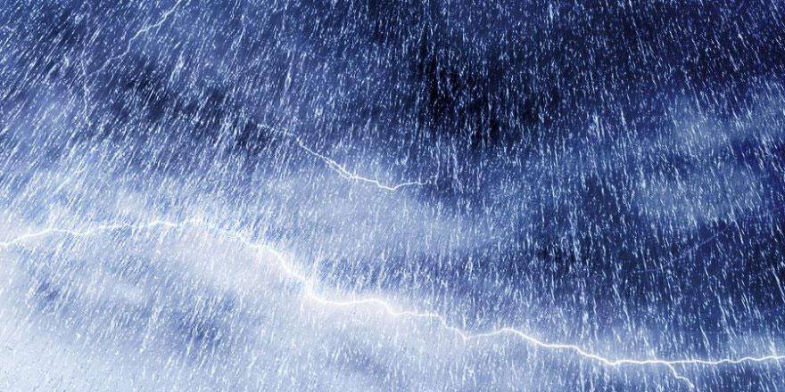 KKTC'ye düşen yağış miktarı