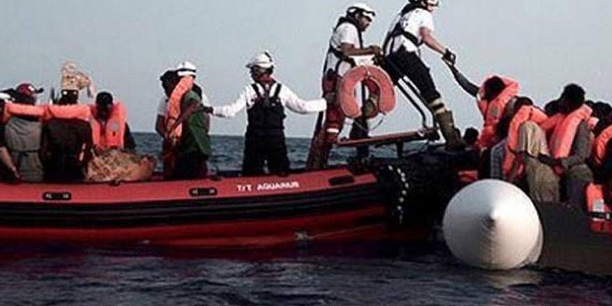 Fransa Akdeniz'de kurtarılan göçmenleri artık almayacak