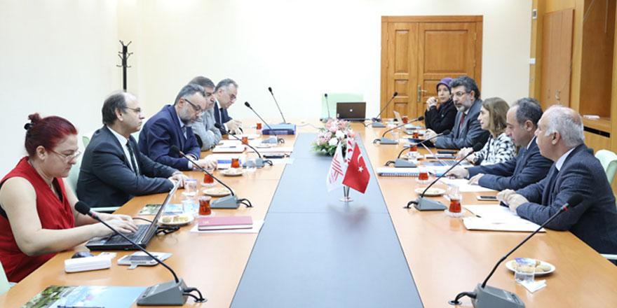Ankara'da KKTC üniversiteleriyle ilgili değerlendirme süreci usul ve esasları görüşüldü