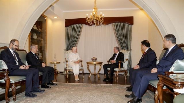 TC Aile ve Sosyal Politikalar Bakanı Kaya KKTC'de… Cumhurbaşkanı Akıncı, Kaya ile görüştü