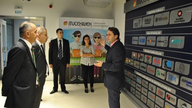 Türkiye'deki başarılı girişimcilik merkezleri ziyaret edildi