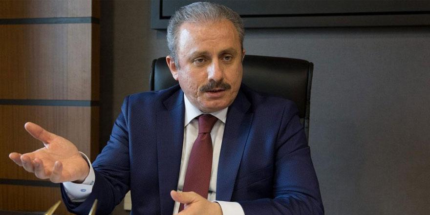 Şentop: Darbe girişiminde Meclis'in bombalanması boşuna değil