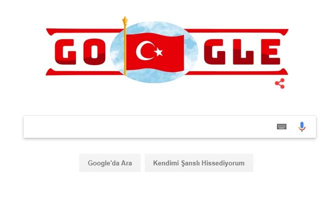 Google Cumhuriyet Bayramı'nı kutladı