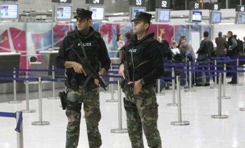 Güney Kıbrıs'ta havalimanlarına özel güvenlik