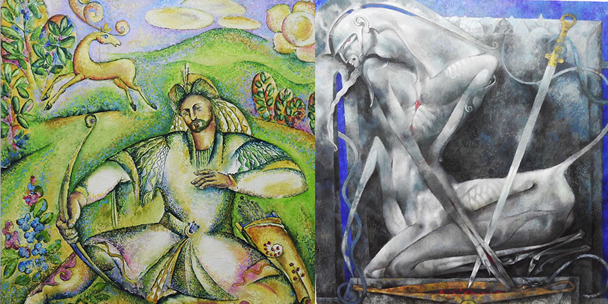 """Tatar Ressamların özel olarak hazırladığı 40 eserden oluşan """"Tataristan Sanatçıları Resim Sergisi"""" Özyiğit tarafından açılıyor.."""