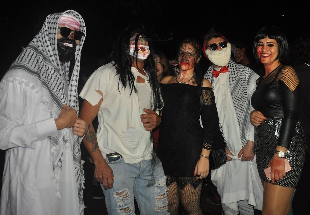 Gazimağusa'da cadılar yollara döküldü!