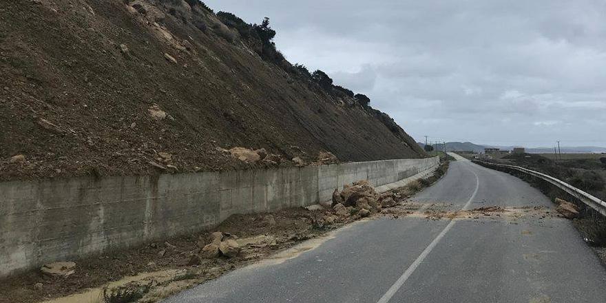 Ardahan - Kantara yolu trafiğe kapatıldı