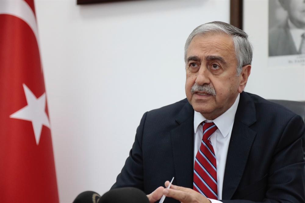 """Akıncı: """"Kıbrıs sorunu öteden beri cumhurbaşkanlığı makamının yürüttüğü bir konu."""""""