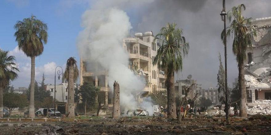 Rusya'nın İdlib saldırısında 13 sivil öldü