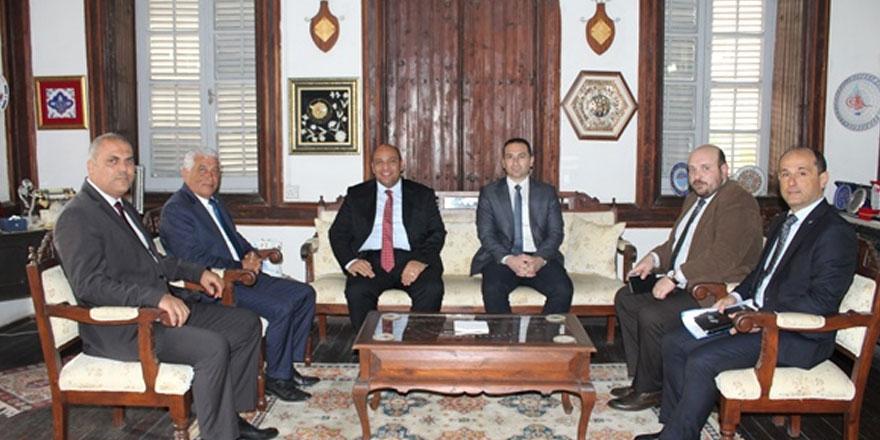 Atakan, Kıbrıs Türk belediyeler birliği'ni ziyaret etti
