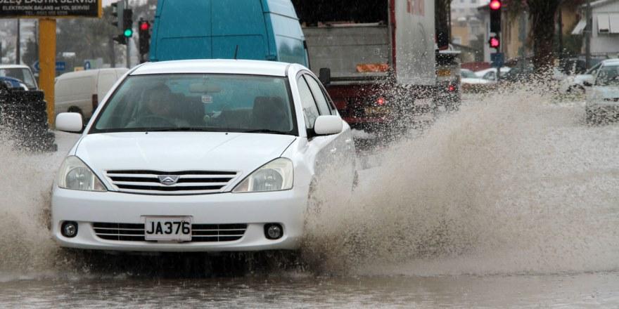 8-9 ekim'de en çok yağışı Lefkoşa aldı