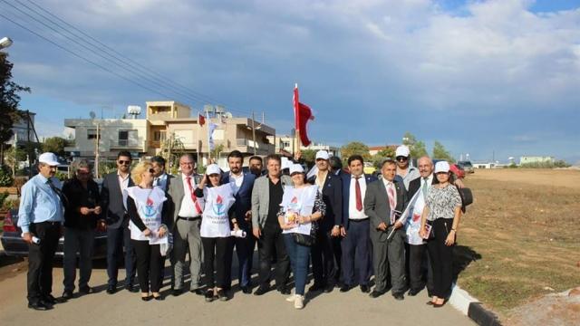 YDP MYK'sı Magusa'da toplandı, Maraş'ta yürüyüş yapıp bildiri dağıttı