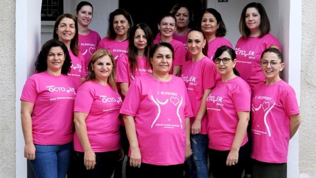 Tak'tan Kanser hastalarına yardım derneği'ne destek