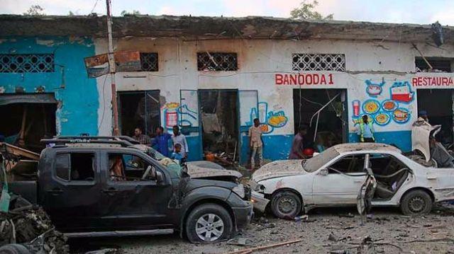 Somali'deki bombalı saldırıda ölü sayısı 27'ye yükseldi