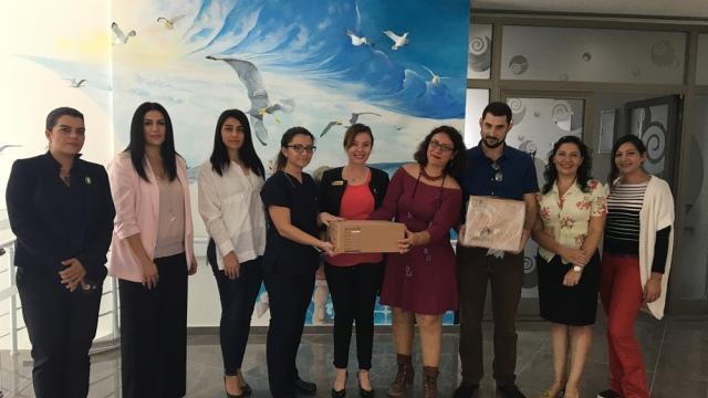 JCI Kuzey Kıbrıs'tan Çocuk Onkoloji ve Hematoloji Servisi'ne bağış