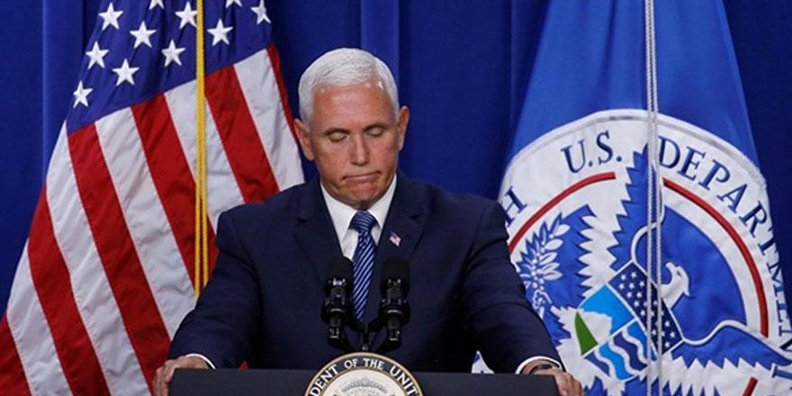 ABD Başkan Yardımcısı Mike Pence Türkiye'ye gidiyor