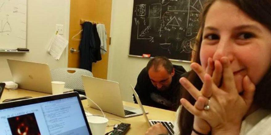 Genç bilim kadını Katie Bouman