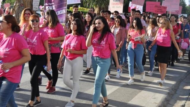 DAÜ Sağlık Bilimleri Fakültesi'nden Meme Kanseri İçin Farkındalık Yürüyüşü