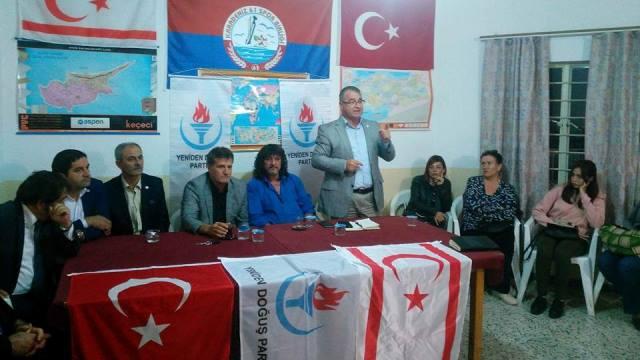 Yeniden Doğuş Partisi Heyeti Kaplıca'yı ziyaret etti