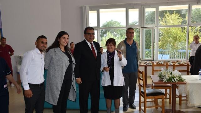 Güzelyurt Meslek Lisesi Öğrencilerinden Bülent Ecevit Rehabilitasyon Merkezi'ne araç bağışı