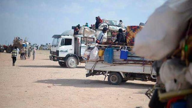 Terör örgütü PYD 4 bin Iraklı mülteciyi sürgün etti