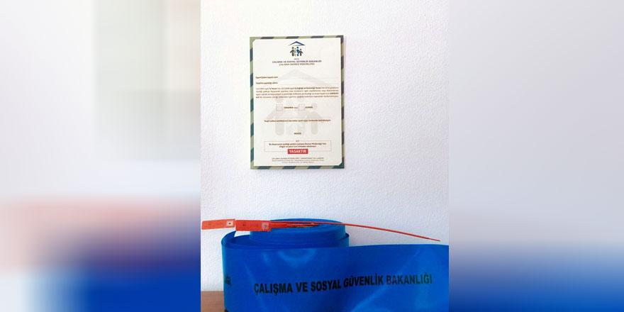Çalışma Bakanlığı, Mühür ve Güvenlik Şeridi uygulamasına geçti