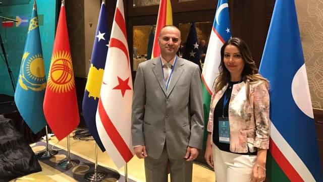 Kültür Dairesi Müdürü Tunçalp, Türk Dili Konuşan Milli Kütüphane Başkanları toplantısına katıldı