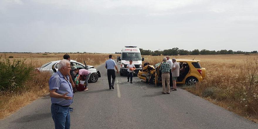 Kazada Yaralananların isimleri açıklandı