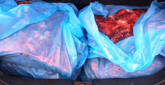 Metehan Sınır Kapısı'nda 353 Kg Donmuş Et Ele Geçirildi