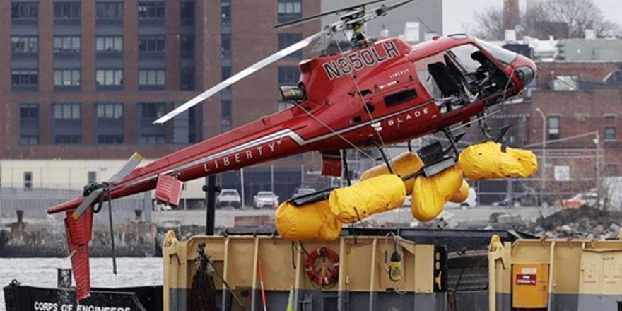 New york'taki helikopter kazası