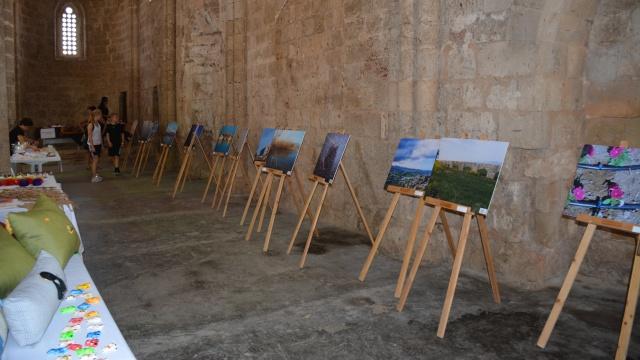 Gazimağusa Özel Eğitim Merkezi Öğrencileri eserlerini sergiledi