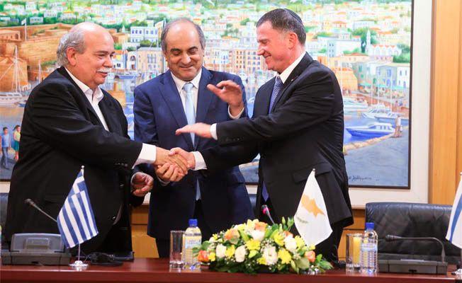 Güney Kıbrıs-Yunanistan-İsrail üçlü zirvesi dün yapıldı