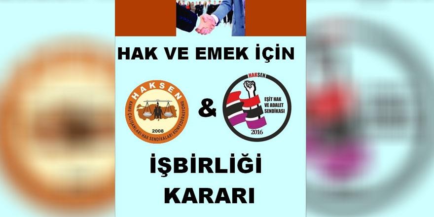 """""""Türkiye Kamu Çalışanları Hak  Sendikaları Konfederasyonu"""" na üye oluyor"""
