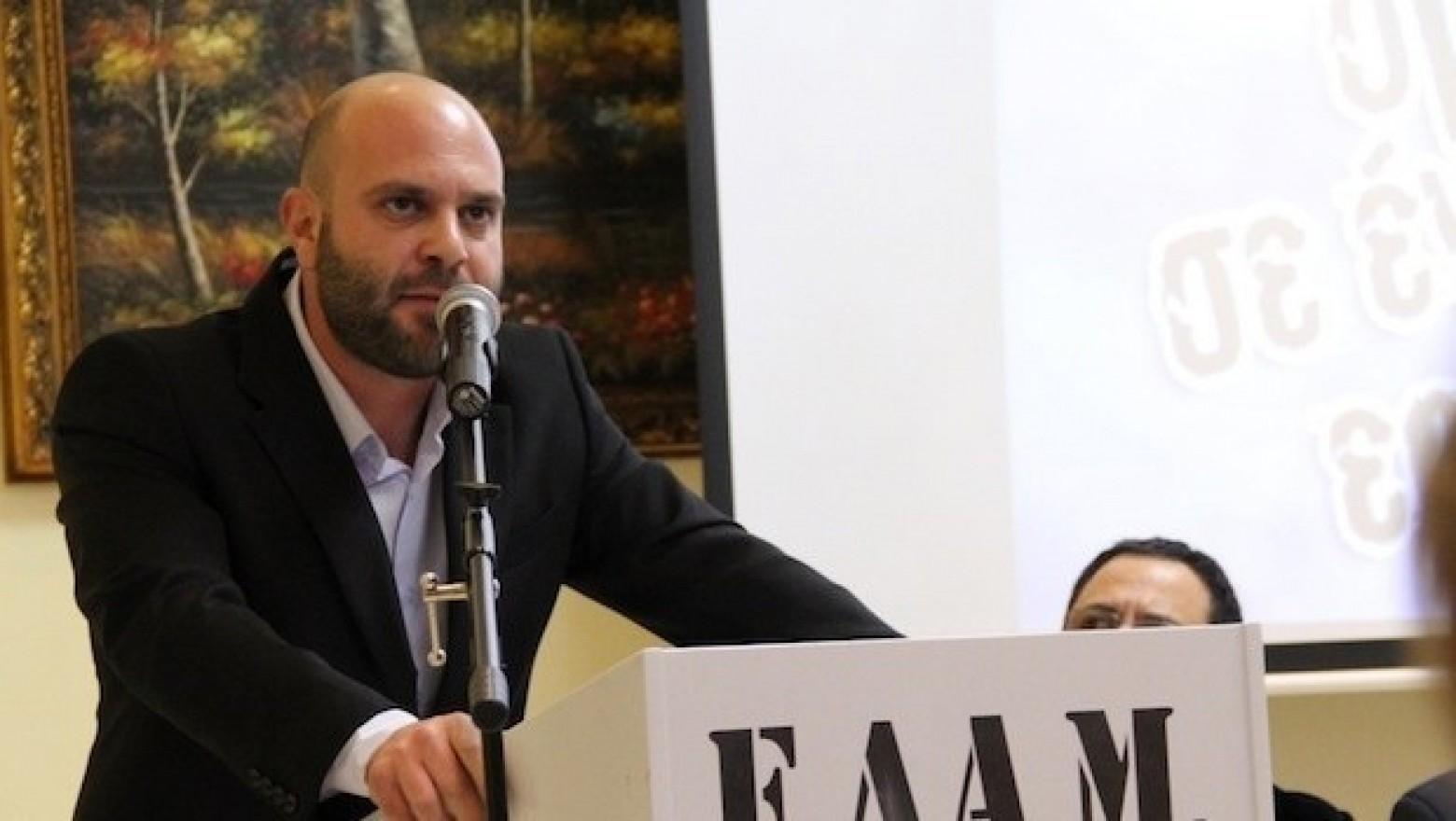 Elam Başkanı Hristu adaylığını ilan etti