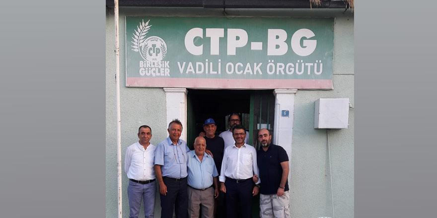 CTP Mağusa İlçesi köy ziyaretlerine başladı