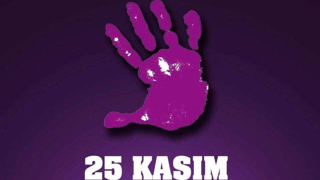 25 Kasım kadına yönelik şiddetle mücadele günü