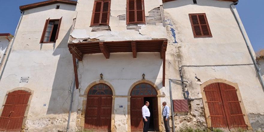 Değirmenlik'teki tarihi Osmanlı konağı yeniden hayat buluyor