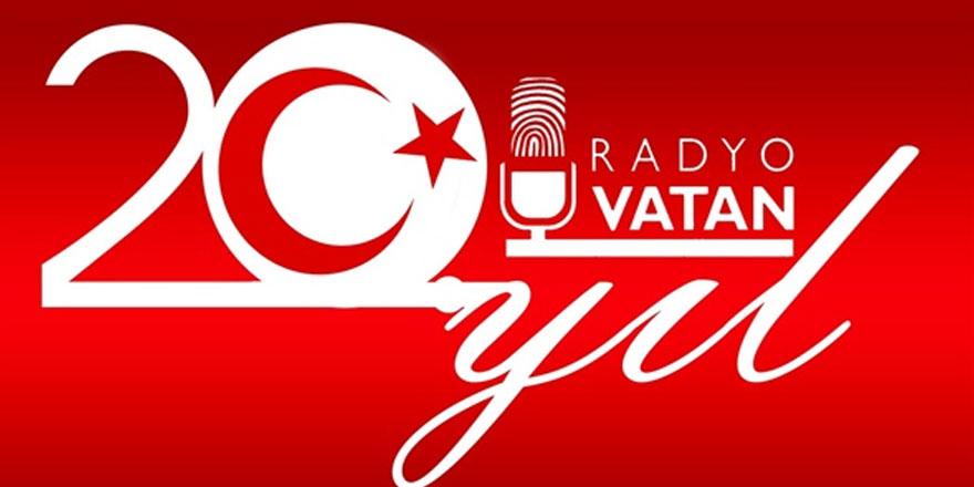Kuzeyin Sesi Radyo Vatan'ın 20. kuruluş yılı yarın akşam kutlanıyor