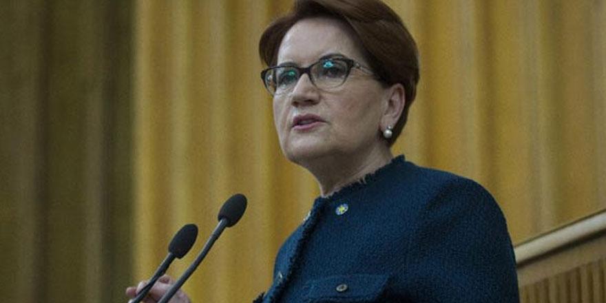 Akşener: Kurulacak yeni partiler, AK Parti havzasından oy alacaklar