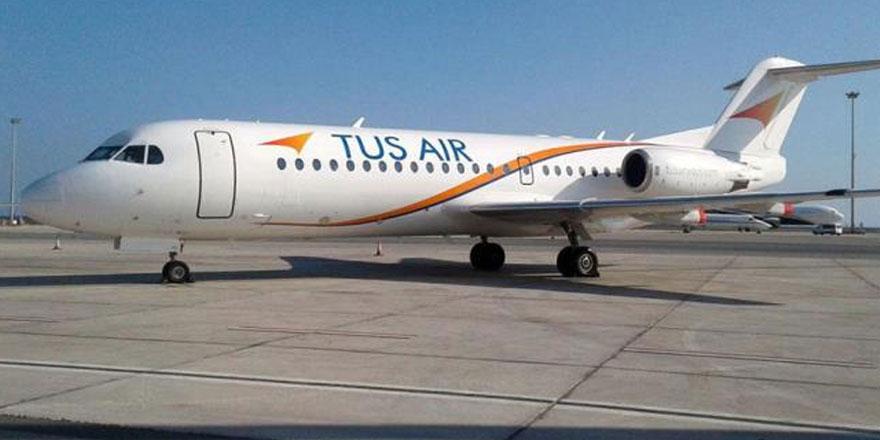"""Güney Kıbrıs  """"Tus Air"""" uçuşlarına ara veriyor"""