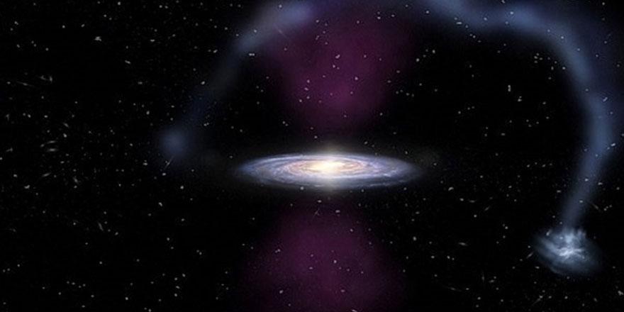 Samanyolu Galaksisi'nin merkezinde 3 buçuk milyon yıl önce patlama olmuş