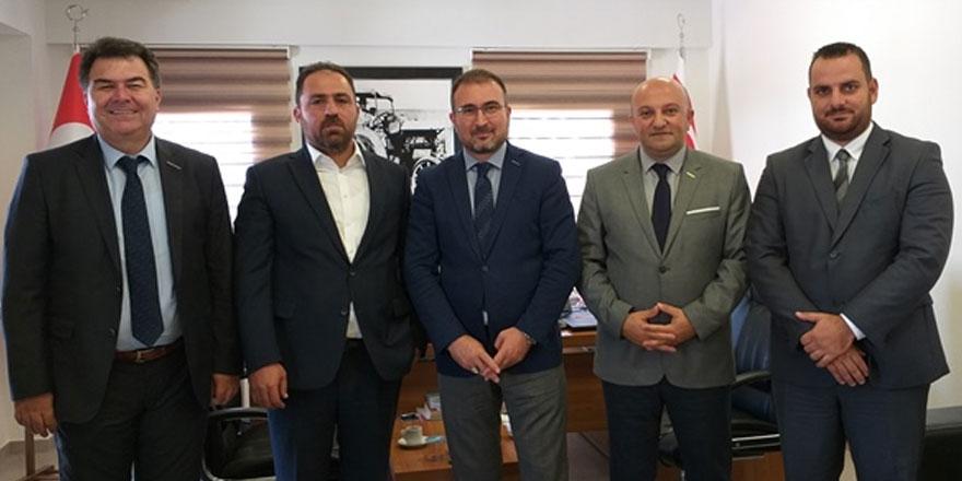 Ankara Merkezli Eko-Avrasya, Kıbrıs Türk Çiftçiler Birliği'ni ziyaret etti