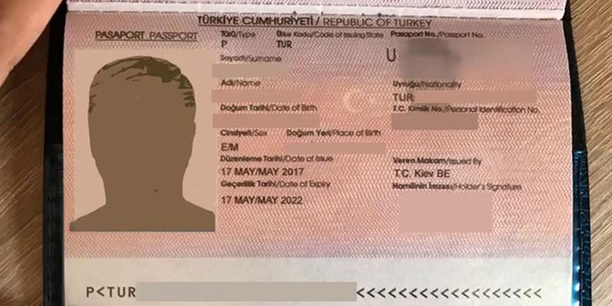 Ercan'da sahte pasaport