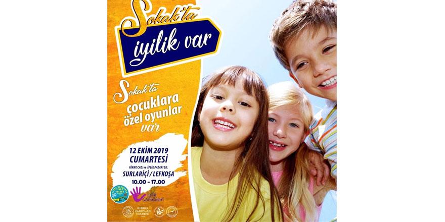 """Girne Özgürada Lıons Kulübü """"sokakta iyilik var"""" festivali düzenliyor"""