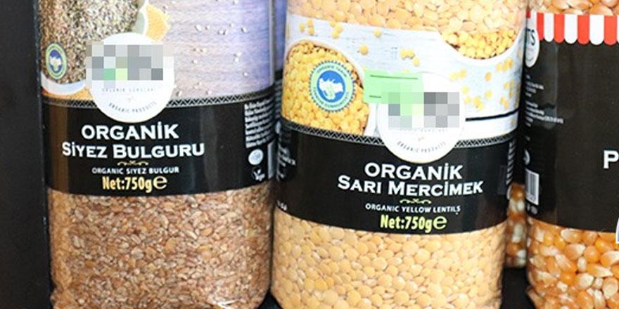 """""""Etiket yoksa organik değil"""""""