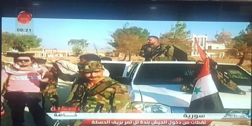 Suriye ordusu ilerliyor, kamu kurumlarına bayrak çekildi