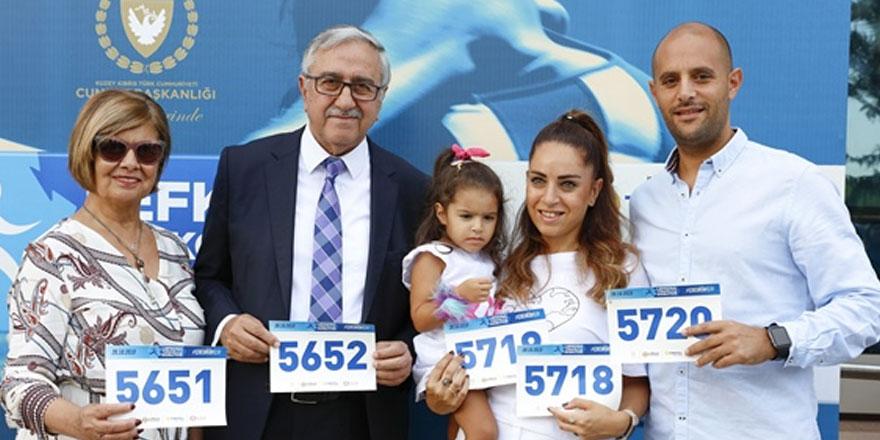Akıncı maraton'a katılacak
