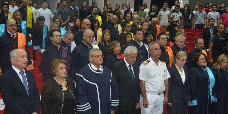 DAÜ 2019-2020 Akademik yili açiliş töreni ve ilk ders yapildi